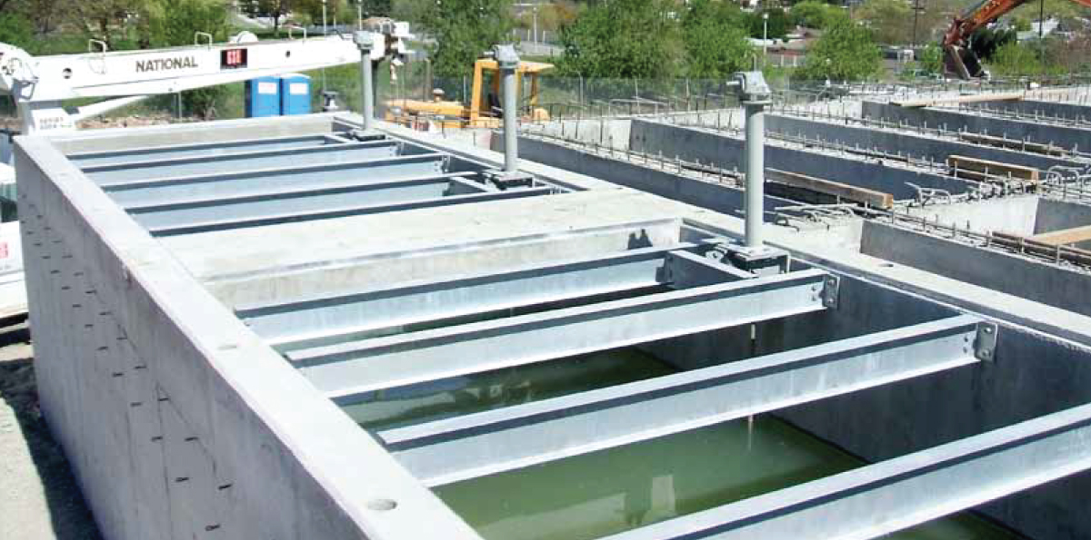 WTP SOLIDS HANDLING FACILITIES AND PLANT B EXPANSION